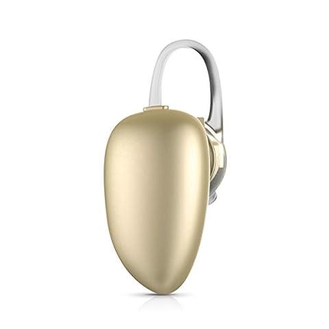 Mini Casque Bluetooth, HOTGO I7 Ecouteur Bluetooth intra-auriculaire Oreillette sans fil Ecouteur Mains-libres 6 Heures de jeu avec Microphone pour iPhone Sumsung Smartphones -