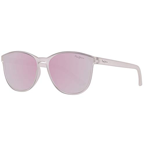 Pepe Jeans Unisex-Erwachsene PJ7285C456 Sonnenbrille, Transparente, 56