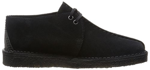 Clarks Originals  Desert Trek, Derby homme Noir (Black Sde)