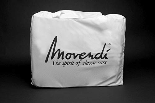 AMS Car-Cover Satin White für DKW 3=6 Monza 1956-1958 - Monza 3 Licht