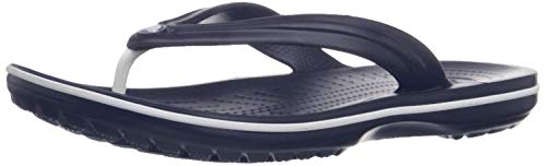 Crocs Crocband Flip 11033, Infradito Unisex - Adulto, Blu (Navy), 48-49 (Talla produttore:...