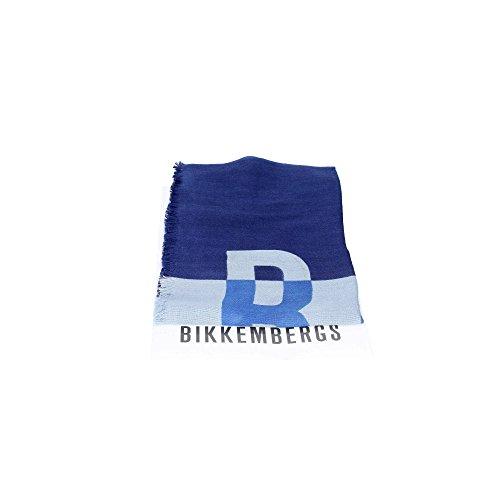 Bikkembergs Bik17670 Sciarpa Donna Viscosa E Lana Blu Blu TU
