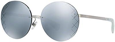 Chanel CH4216 C1246G occhiali da sole argento silver sunglasses sonnenbrille