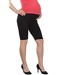 7f01721a6948a JANDAZ® Standard Or Winter Full Length Cropped Short Maternity Leggings  Over Bump 95% Cotton Wide Range Of…