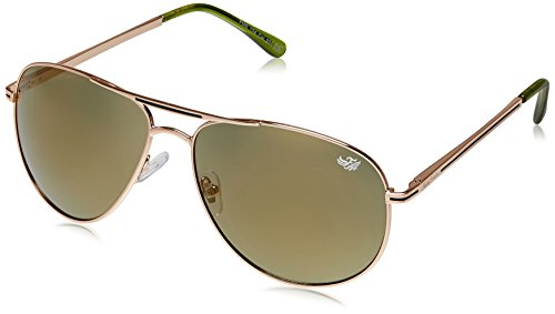 Flying Machine Aviator Sunglasses (Shiny Gold) (FMS 104|201|62)  available at amazon for Rs.749