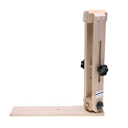 DIY einstellbare Leder Handwerk Holz Clip Schnürung Stitching Clamp Nähwerkzeuge -