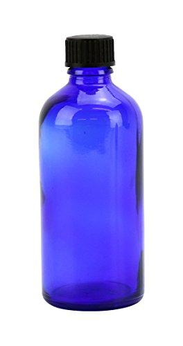 natural-by-nature-100-ml-leer-glas-blau-blender-flasche