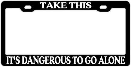 qidushop Nummernschildabdeckung Huhn Tier schwarz Cool Schutz für alle Standard US CA Kennzeichenschilder Auto Zubehör -