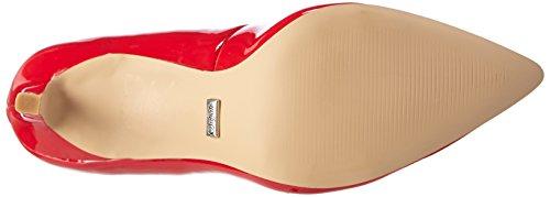 Buffalo Damen H733-c002a-4 P2010l Patent Pumps Rot (Red)