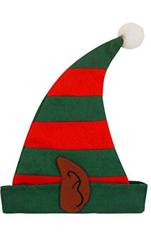 Keine, wo To Go Auswahl Weihnachten Zubehör FLF Hat, Elf Schuhe, Santa Hat, Rentier Geweih, Schleife Hand Band, Santa, Party Pack, Spitzen Handschuhe, Halskette, Tisch, Gr. Einheitsgröße, Pixie Christmas (Kostüm Pixie Uk)