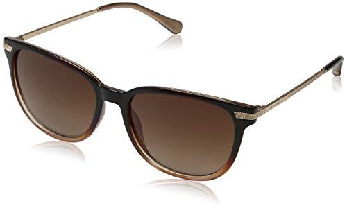 Ted Baker Damen Cali Sonnenbrille, Braun (Chocolate Grad/Brown), 56.0