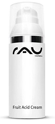 Bha und Aha Gesichts-Creme - RAU Fruit Acid Cream 50 ml - Fruchtsäurecreme - ideal bei reifer, unreiner, verhornter, pigmentierter & fahler...