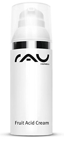 Bha und Aha Gesichts-Creme - RAU Fruit Acid Cream 50 ml - Fruchtsäurecreme - ideal bei reifer,...