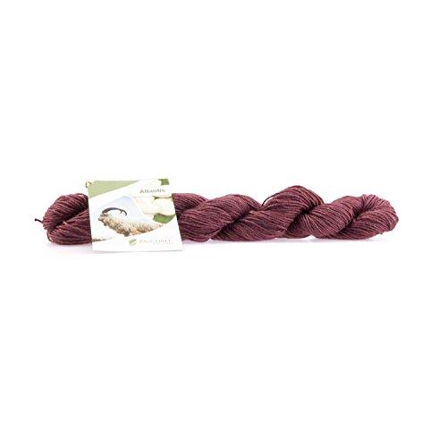 25g Pascuali Atlantis Wolle Strickwolle aus Kaschmirwolle und Seide. Ein edles Kaschmir Garn der Extraklasse., Farbe:Rubin 07