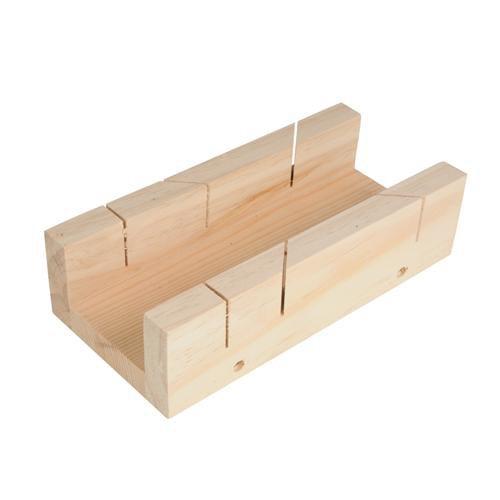 190 mm x 25 mm Boîte à onglets – 90 ° et 45 ° – Bloc de coupe
