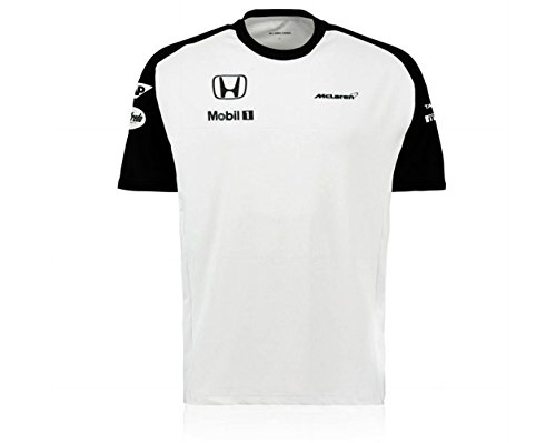 mclaren-honda-officiel-equipe-t-shirt-male-blanc-s