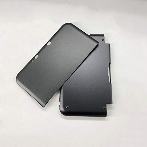 GOZAR Involucro in Alluminio Multicolori in Metallo Duro Cover per 3Ds XL Ll - Nero