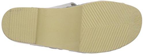 Gevavi  18 BIGHORN flexibler SLIPPER, Mocassins pour femme Blanc (weiss(wit) 01)