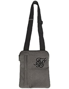 Bolso Siksilk – Cross Body Flight caqui/negro