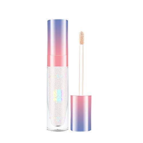 Beisoug Women Love Highlight Gloss Powder Corrector Iluminar Las Herramientas de Maquillaje de la Piel