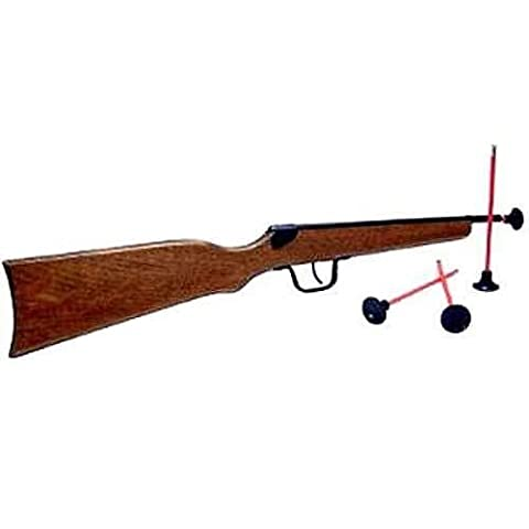 Carabine Crosse Bois - Carabine à Flèches 1 Coup + Cible