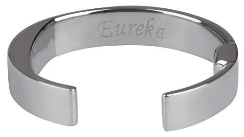 Eureka Akupressur Ring gegen Schnarchen - Bester Edelstahl Typ 316L - Grösse Small - Eureka-typ