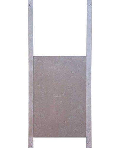 Trappe de sortie aluminium pour poulailler M