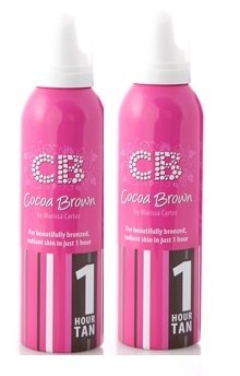 Cocoa Brown 1 Hour Tan Twin Pack - Gel Twin Pack