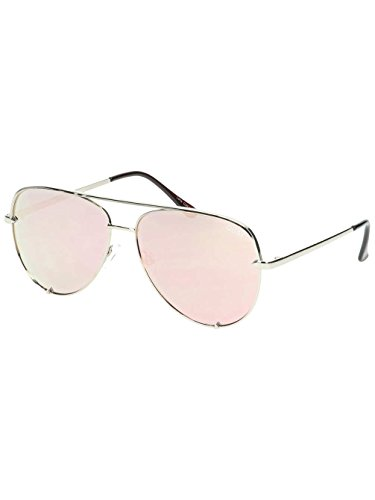 Quay Australia Unisex-Erwachsene Sonnenbrille High Key, Gold/Gold, 150