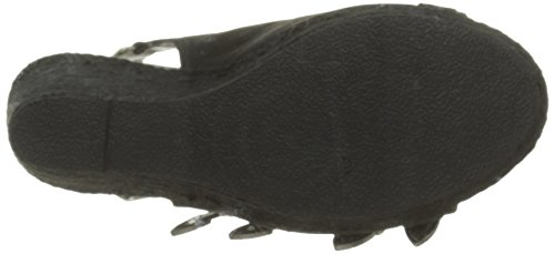 Kaporal Rock, Sandales Femme Noir