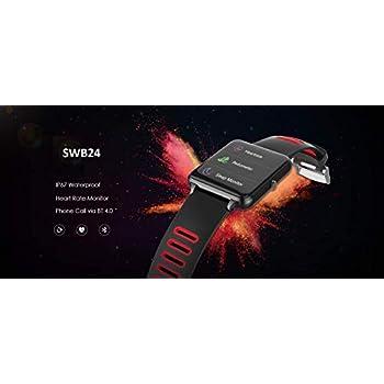 PRIXTON SWB24 - Smartwatch con Pulsómetro Negro