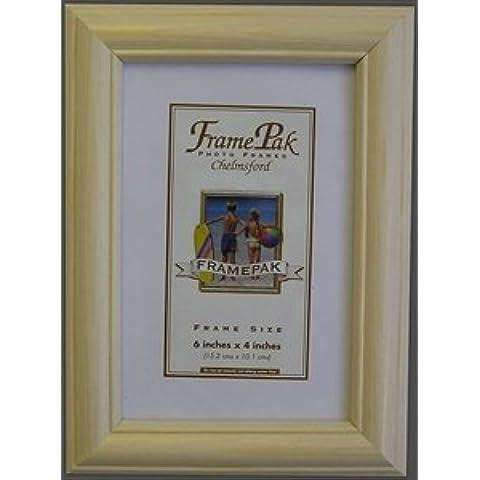 Cornice portafoto in legno di pino, 25mm legno * 32Misure * H1, Pino, 40 X 50 cm
