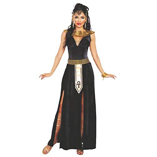 DreamGirl Costume da Donna Cleopatra Abito Alexia Fascia Lunga da Collo Egiziano (M)