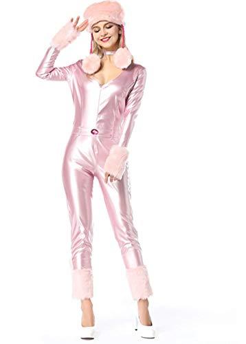 Adult Pudel Kostüm - Der reizvollen rosa Pudel-Kostüm (32-34)
