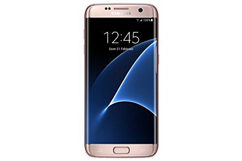 Samsung G935 Galaxy S7 Edge Smartphone da 32GB, Rosa [Italia]