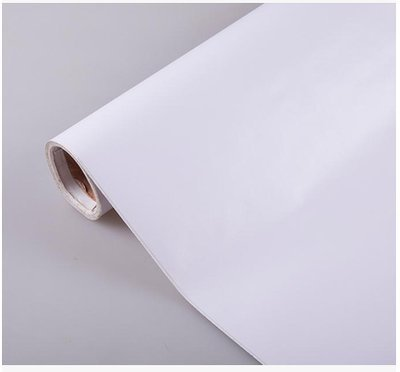 ZCHENG The Simple Self-Stick Wall Paper Glue Surface Wallpaper Pvc Wallpaper Wallpaper Waterproof Self-Adhesive 10 Meters One Roll Of White, Green Red 10 M Pure White, Large585293 -