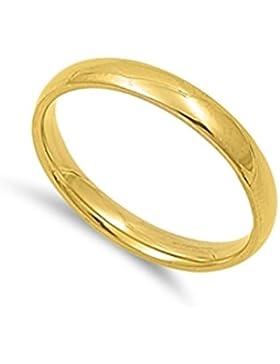 Ring aus rostfreiem Stahl - Ehering - komfortable Passform