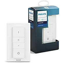 Philips Hue Smart Wireless Dimmer Switch (Installation-Free, Exclusive for Philips Hue Lights), White