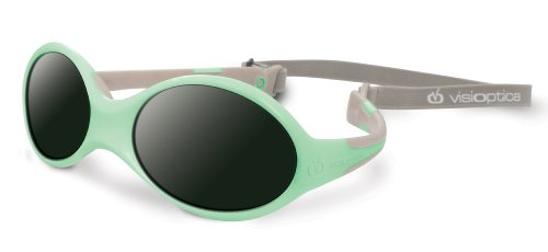 Visiomed Baby Lunettes Solaires, Visioptica Kids Reverso One, Vert Clair, 0 à 12 mois