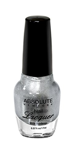 NEW YORK Vernis à ongles absolue – Argent, 1 pièce