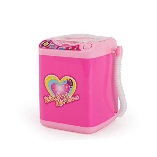 Qomomont Kinder Pädagogisches Make-up Spielzeug, Make-up Bürsten Reiniger Gerät Automatisches Mini Reinigungs Wasch Maschinen Spielzeug -