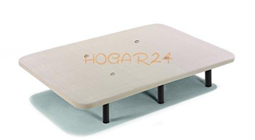 HOGAR24 ES Base Tapizada Tejido 3D Válculas