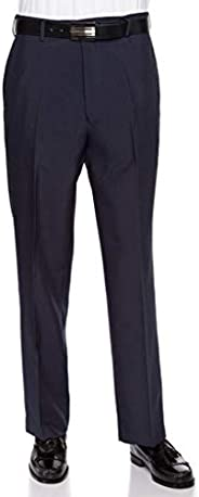 RGM Men's Flat Front Dress Pant Modern Fit - Perfect for Every