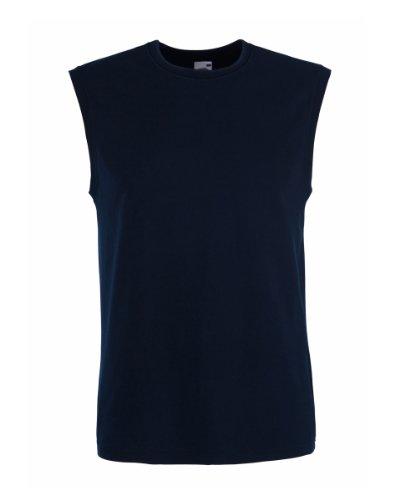 Fruit of the Loom Herren Tank Top Blau