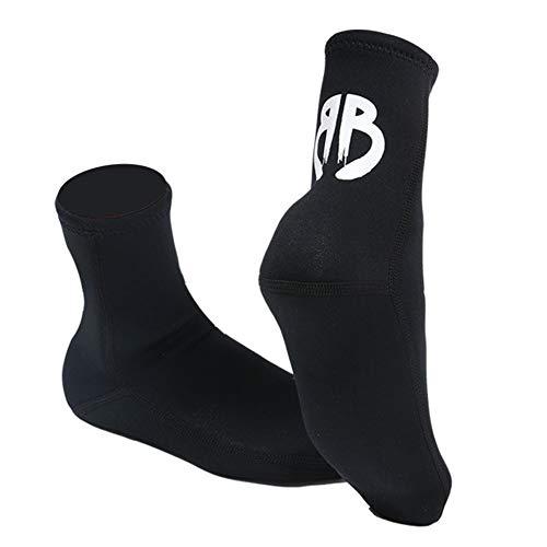 TZTED Neopren Socken Thermosocken 3 Mm Unisex Tauchsocken Scuba Schnorchel Fin Socken Verhindern Kratzern rutschfeste Dive Stiefel,XL