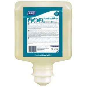 DEB PureBac FOAM WASH Schaum beige 6x1 L Antibac (Wash Flüssigseife)