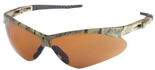 Jackson Safety 19644 V30 Nemesis Safety Glasses, Bronze Lenses with Camo Frame by Kimberly-Clark