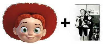 Jessie Karte Partei Gesichtsmasken (Maske) (Toy Story) - Enthält 6X4 (15X10Cm) starfoto (Woody Kostüm Jessie Und)