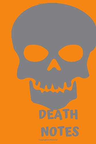 DEATH NOTES: Halloween Skeleton Themed Notebook