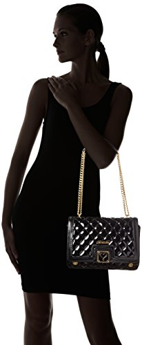 Love Moschino JC4017PP13LB0 Sac À Bandoulière Femme Noir (Black)